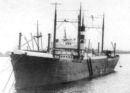 KNSM cargo ship Jan van Nassau. Image: Wrecksite.eu